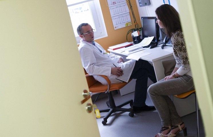Пациентка посещает гинеколога